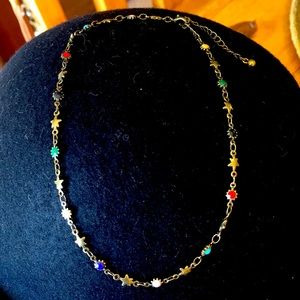 🌻✌️✌️🌻 URBAN OUTFITTERS MULTI COLORED CHOKER !!